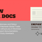 Know your docs: Kristen Morean and Robyn Moore to speak on Oct 13 at Maine Import Forum