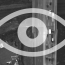 Eye over semi truck on highway