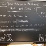 New Jersey chalkboard