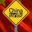 10 percent on china