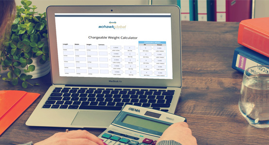 Calculate Your Next Shipment's Chargeable Weight