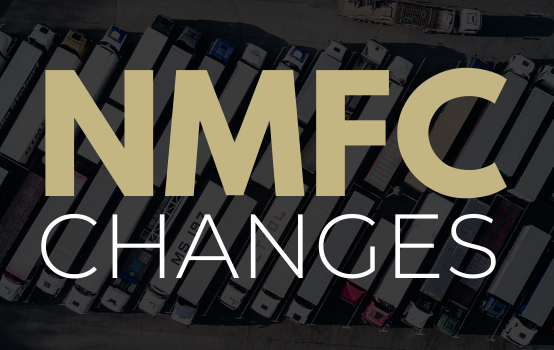 Changes Roll Out for National Motor Freight Classification (NMFC) Codes