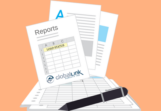 Customize Reports with the GlobalLink Domestic TMS