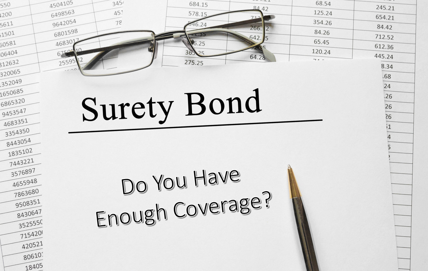 Surety Bond Coverage Changes