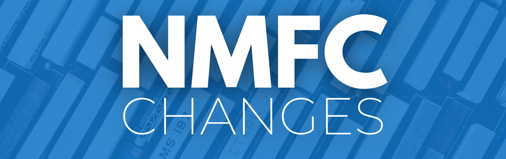 NMFC Changes Impacting LTL Shipments for Certain Commodities