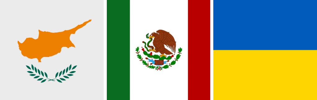Less Licenses, More Exceptions… for Mexico, Ukraine, and Cyprus