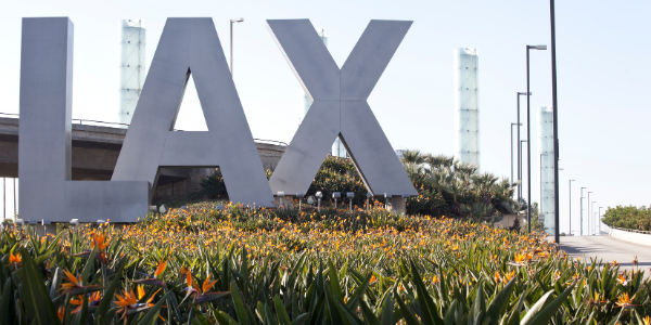 Covid-19 Outbreak Causes Disruptions at LAX